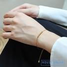 手鏈 銀質手鏈女簡約個性ins潮小眾設計轉運珠氣質百搭閨蜜禮物