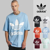 【GT】Adidas Originals 黑白 多色 短袖T恤 運動 休閒 純棉 寬鬆 落肩 短T 愛迪達 基本款 經典款 大Logo