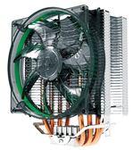 超頻三東海X4 CPU散熱器4熱管cpu風扇AMD 775 115X 2011智能風扇【韓衣舍】