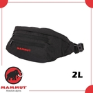 【MAMMUT CLASSIC BUMBAG 2L 腰包《黑》】2520-00470/防竊包/臀包/隨身包/旅遊零錢包