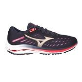 MIZUNO WAVE RIDER 24 女慢跑鞋(免運 路跑 避震 美津濃≡體院≡ J1GD200343
