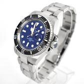 Valentino coupeau黑框藍面不鏽鋼石英錶NEV90