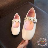 售完即止-兒童鞋子女童皮鞋小童單鞋小女孩公主鞋韓版奶奶鞋7-25(庫存清出T)