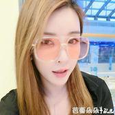 女士太陽眼鏡 新款女潮眼鏡2018新圓形優雅太陽鏡女士圓臉韓國個性 芭蕾朵朵