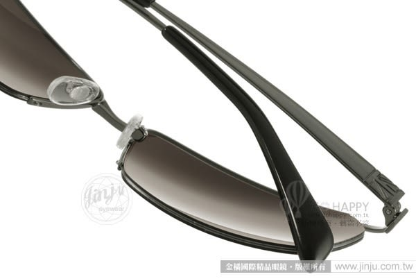 KATHARINE HAMNETT 太陽眼鏡 KH925 C03 (槍銀-棕) 日本工藝紳士眉框款 # 金橘眼鏡