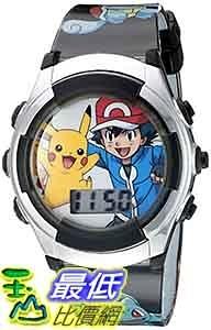 [美國直購] Kids Watch Pokemon 灰色兒童手錶 Kids' Digital Display Quartz Watch Brand 手錶