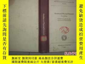 二手書博民逛書店Handbook罕見of Physical Constants(