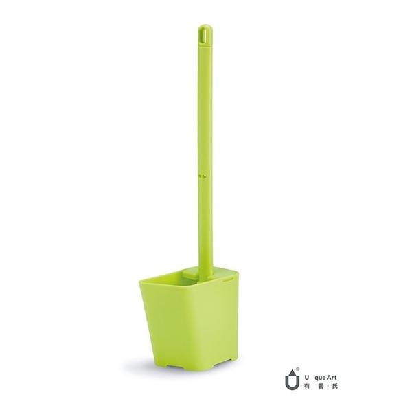 Toilet Brush.Know 傾倒式馬桶刷組/嫩芽綠【Unique Art】