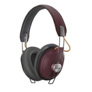 Paasonic 復古耳罩式藍芽耳機-摩登紅 RP-HTX80BGCR