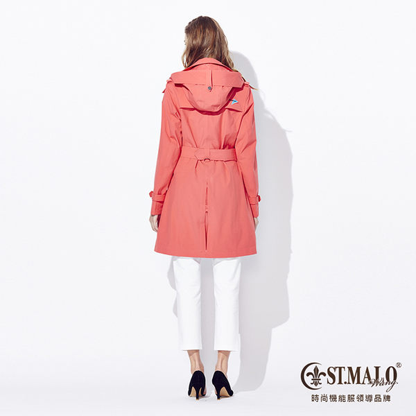 【ST.MALO】SympaTex 極致防寒鉑金級風衣-1534WC-橘紅