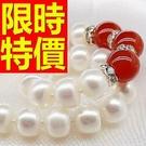 珍珠項鍊母親節禮物首飾精緻簡單-天然正韓亮麗情人節禮物飾品53pe3【巴黎精品】