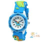 兒童手錶3D恐龍卡通手錶兒童男孩女孩動漫禮物錶學生防水進口石英手錶