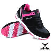 PAMAX帕瑪斯極品: 獨家首創【專利止滑鞋底】兼具運動、休閒、慢跑鞋功能-PP369-BWP-女