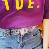 透明清新愛心皮帶簡約百搭正韓裝飾腰帶男女休閒學生通用 【快速出貨八五折免運】