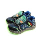 SKECHERS 運動鞋 藍色 童鞋 97485LBLBK no884