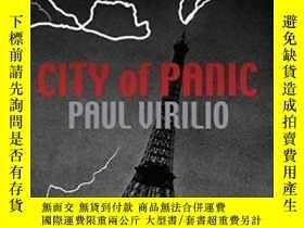二手書博民逛書店City罕見Of Panic (culture Machine)