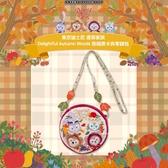 (現貨&樂園實拍) 東京迪士尼 達菲家族 Delightful Autumn Woods 掛繩 票卡夾零錢包