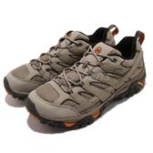 Merrell 戶外鞋 Moab 2 GTX 卡其 灰 Gore-Tex 防水 透氣 越野 休閒鞋 運動鞋 男鞋【PUMP306】 ML12133