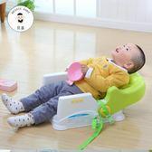 寶寶餐椅便攜式嬰兒吃飯座椅兒童餐桌椅多功能可折疊飯桌學坐椅子igo  蜜拉貝爾