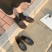 小皮鞋-英倫風女鞋黑色小皮鞋女生夏季潮百搭韓版學院風原宿軟妹圓頭單鞋 好再來小屋