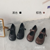 娃娃鞋 南在南方 日系復古可愛軟妹jk小皮鞋瑪麗珍大頭娃娃鞋ins學生單鞋 朵拉朵YC