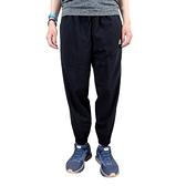 Adidas W 3S WV E 78PT [GM5559] 女 長褲 錐形 運動 休閒 輕薄 透氣 縮口 黑