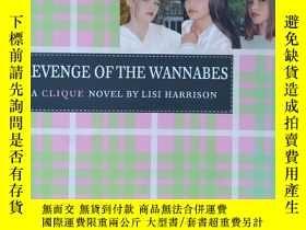 二手書博民逛書店英文原版書罕見Revenge of the Wannabes: Volume 3 (THE CLIQUE)  Li