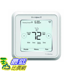 [107美國直購] 溫控器 Honeywell TH6220WF2006/U Lyric T6 Pro Wi-Fi Programmable Thermostat with Stages Up to 2 Heat