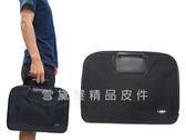 ~雪黛屋~YESON 手拿包大容量簡易型手提可放A4資料夾公文包高單數防水尼龍布輕便手拿手提Y705L