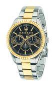 【Maserati 瑪莎拉蒂】/三眼鋼帶錶(男錶 女錶)/R8853100008/台灣總代理原廠公司貨兩年保固