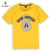 Hush Puppies T恤 男裝斑駁數字8刺繡狗印花T恤
