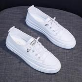 小白鞋透氣薄款小白女鞋夏季新款淺口爆款小雛菊鏤空百搭網面板鞋