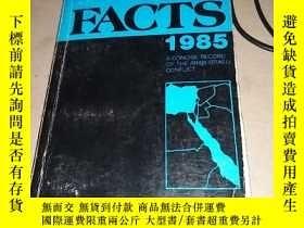 二手書博民逛書店英文原版罕見MYTHS FACTS 1985 前十幾頁散頁粘過Y213400