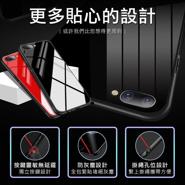 OPPO 全包邊 防刮玻璃背板 R11 R11 Plus R11s R11s Plus 手機殼 防護殼