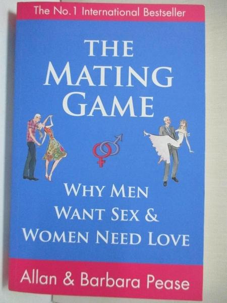【書寶二手書T1/心理_BBP】The Mating Game: Understanding What He Wants and…