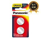 【Panasonic 國際牌】 鋰鈕扣電池CR-2032TW (2入)