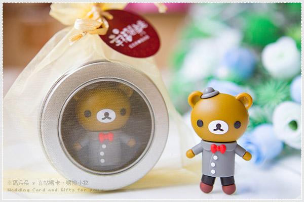 拉拉熊(USB 8G)-男版 (附鐵盒及紗袋包裝)*(快娶)婚禮小物.生日情人節 幸福朵朵 只要 230元!