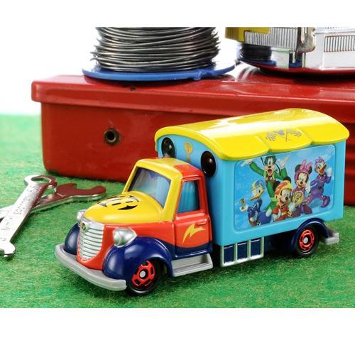 《 TOMICA 》迪士尼夢幻小汽車 - DM米奇妙妙車隊宣傳車╭★ JOYBUS玩具百貨