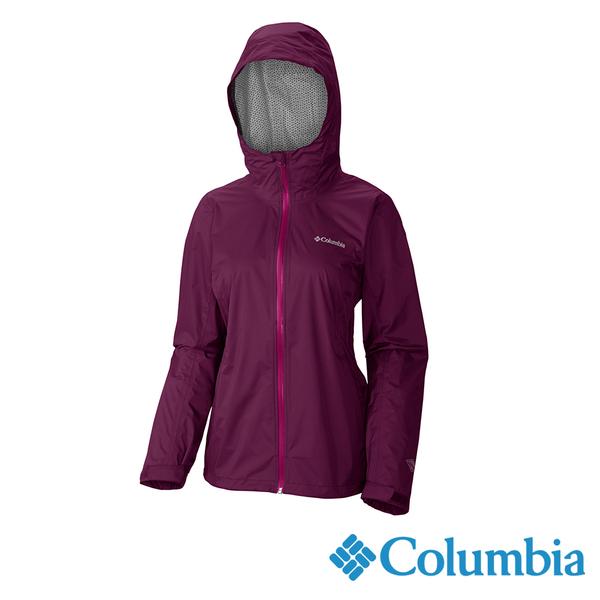Columbia 女 OTEvap2.5L防水外套-紫色 URR20230PL【GO WILD】