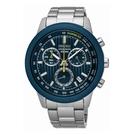 SEIKO CS線條時尚計時腕錶 / 8T68-00A0B/ SSB207P1