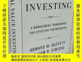 二手書博民逛書店Social罕見Value Investing 【精裝原版, 佳】Y11617 Howard W. Buffe
