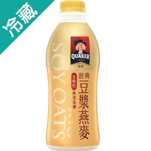 桂格顆粒豆漿燕麥920ML /瓶【愛買冷藏】