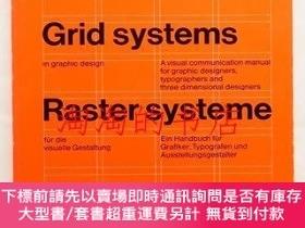 二手書博民逛書店Grid罕見systems in graphic design: a visual communication m