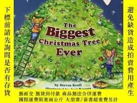 二手書博民逛書店The罕見Biggest Christmas Tree Ever