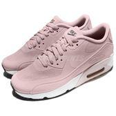 Nike 休閒慢跑鞋 Air Max 90 Ultra 2.0 GS 粉紅 白 氣墊 女鞋 大童鞋【PUMP306】 869951-602