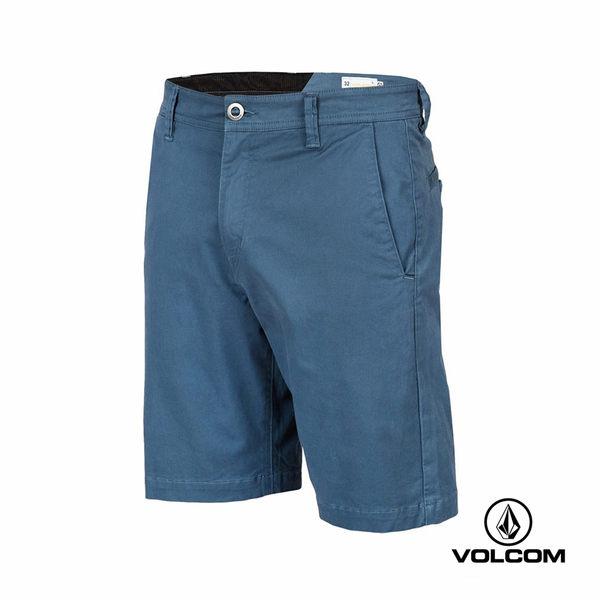 VOLCOM FRICKIN LTWT SHORT 都會簡約型短褲-藍