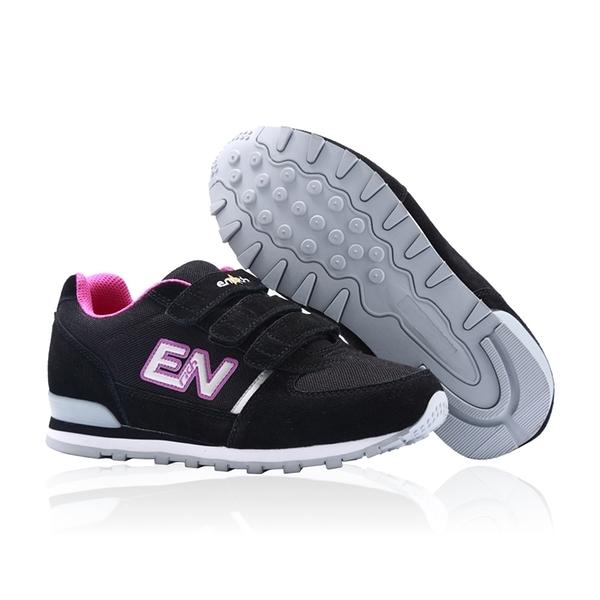 ENRICH英立奇 健走慢跑鞋-黑紫 女款 RW05V-09 (34-40)