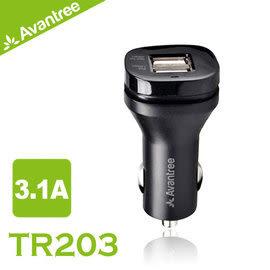 【風雅小舖】【Avantree USB 3.1A雙車充/車用充電器(TR203)】可同時充平板手機等