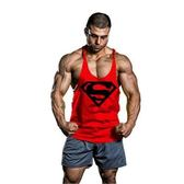 超人男士運動寬鬆吊帶背心