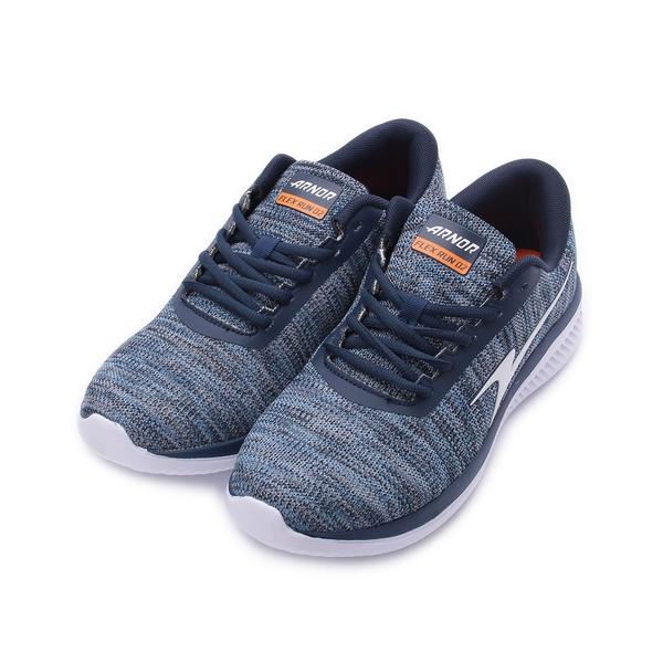ARNOR 奔馳飛線 慢跑鞋 藍 ARMR83296 男鞋